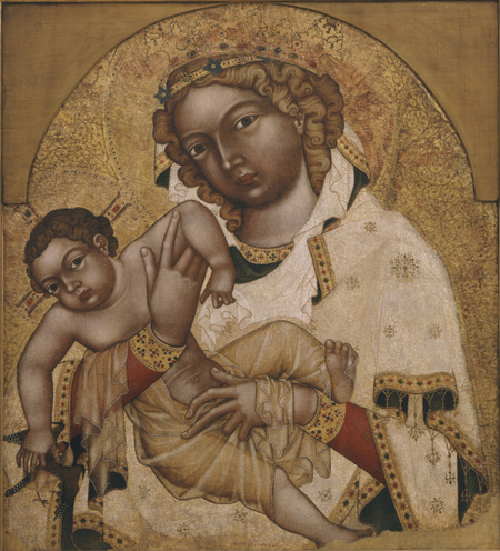 The Madonna and Child, called the Strahov Madonna