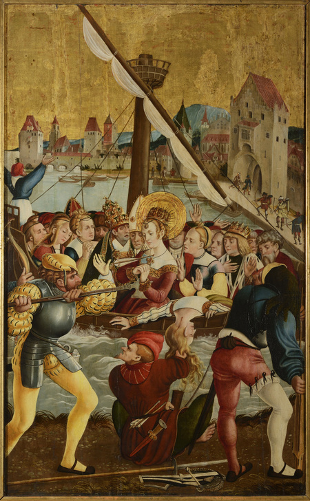The Adoration of the Shepherds, The Adoration of the Kings, The Death of St. Barbara, The Death of St. Ursula and Her Companions