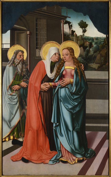 Strahov Triptych - The Visitation, The Nativity, The Flight into Egypt