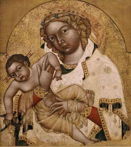 Madona s dítětem zvaná Strahovská