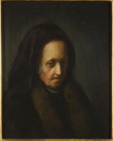 Portrét stařeny